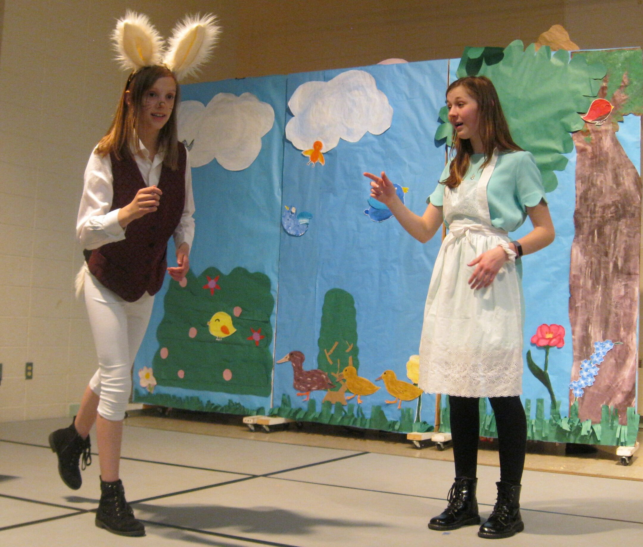 Alice in Wonderland School Play